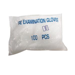 GC/国产 一次性PE手套 PE 均码 1包