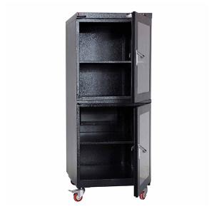 ZOYET/众御 工业系列电子防潮箱 ZYCM240-2 灰色 1250*600*400(高*宽*深/mm) 湿度范围10-20%RH  上下双门 1台