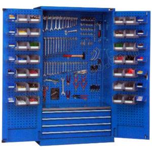 ZKH/震坤行 四抽层板工具储物柜 QH04112 1023×550×1800mm 4×100 层板1块 1个