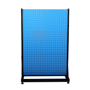 AIWIN 双面固定物料整理架 DHR642 960×610×1450 4方孔 2百叶挂板 1个