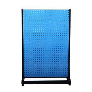 AIWIN 双面固定物料整理架 DHR633 960×610×1450 3方孔 3百叶 1个