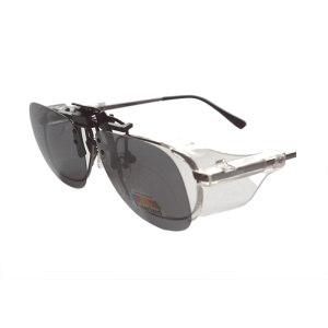 QF/奇非 偏光太阳镜片夹 QF-11 灰色 1副