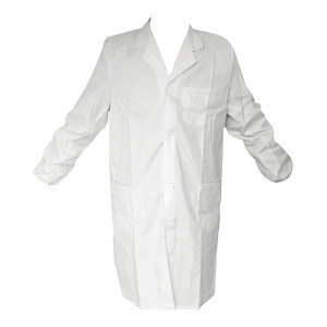 GC/国产 长袖细斜纹白大褂 长袖细斜纹 XL/175 1件