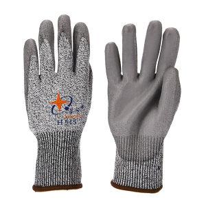 XINGYU/星宇 HPPE防割PU手套 H515 L(均码) 5级防割 1副
