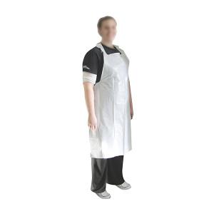 AMMEX/爱马斯 一次性PE围裙 PA1.0C 均码 白色 1箱