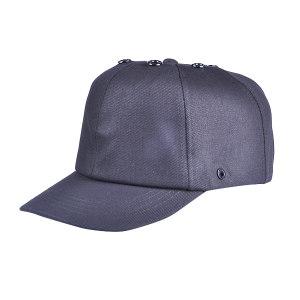 JSP/洁适比 运动安全帽 01-2099 大码 黑色 纯棉外帽 PE内壳 7cm帽檐 1顶