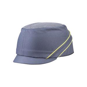 DELTA/代尔塔 COLTAN轻型防撞安全帽 102130 灰色(GR) PU涂层 PE帽壳 3cm帽檐 1顶