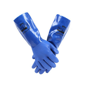 ANSELL/安思尔 PVC防油厚衬里手套 14-663 8码 1副