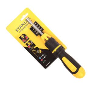 STANLEY/史丹利 棘轮换头螺丝批 STHT68010-8-23 11件 1套