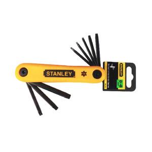 STANLEY/史丹利 折叠式花形扳手套装 69-263-23C 8件 T9-T40 塑架 1套