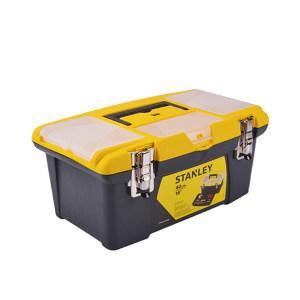"""STANLEY/史丹利 JUMBO塑料工具箱 STST16028-8-23 16"""" 400×250×185mm 1只"""