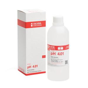 HANNA/哈纳 pH校准缓冲液 HI7004L 25℃下pH标准值4.01 不含COA证书 500mL 1瓶