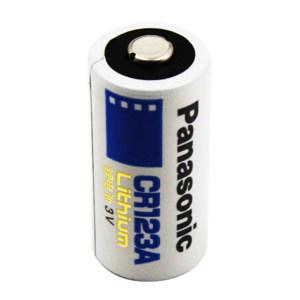 PANASONIC/松下 3V锂电池 CR123A CR123AW/C1B 1粒装 3V 1个