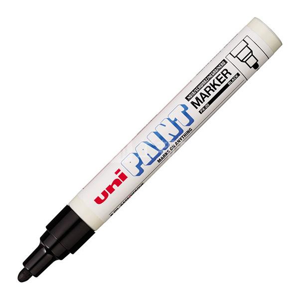 MITSUBISHI/三菱 中油漆笔UNI PX-20 黑色2.2~2.8mm 1支