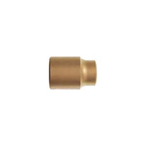 """CARLTSOE/卡索 1/4""""系列防爆套筒 1503AA-3-A 3mm 铝青铜 1只"""