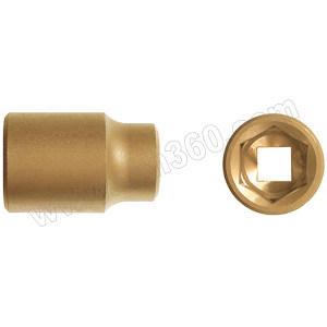"""CARLTSOE/卡索 1/4""""系列防爆套筒 1503AA-8-A 8mm 铝青铜 1只"""