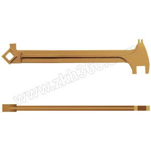 CARLTSOE/卡索 防爆开桶扳手(多功能) 110-385-A 385mm 铝青铜 1把
