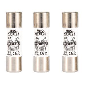 MIRO/茗熔 保险丝 Ф10×38 500V/6A 1个