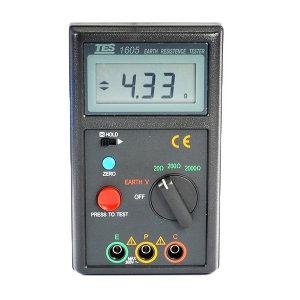 TES/泰仕 打钉式数位接地电阻计 TES-1605 1件