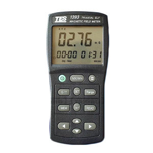TES/泰仕 三轴式高斯表电磁波测试器 TES-1393 1件