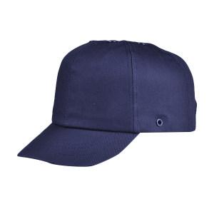 JSP/洁适比 运动安全帽 01-2094 大码 海军蓝 纯棉外帽 PE内壳 7cm帽檐 1顶