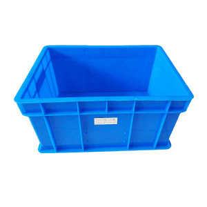 ANWENYING/安稳盈 450系列周转箱 XS-450 480×355×174mm(450×320×165mm) ±5mm 蓝色 1个