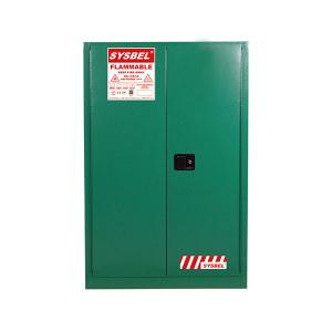 SYSBEL/西斯贝尔 杀虫剂安全储存柜 WA810450G 45Gal/170L 双门手动 1台