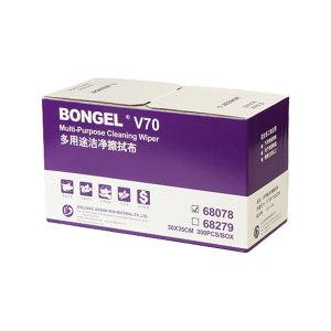 JEENOR/洁诺 BONGEL V70多用途洁净擦拭布 68279 白色 30*350cm 1/4折叠式 1盒