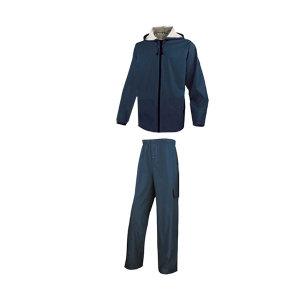 DELTA/代尔塔 EN850分体式涤纶雨衣套装 407008 L 藏青色(BM) 1套