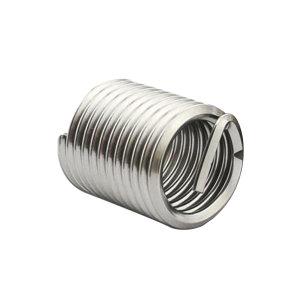 ZKH/震坤行 公制粗牙钢丝螺套 304 本色 M5x0.8x1.5D M5×0.8×1.5D 1包