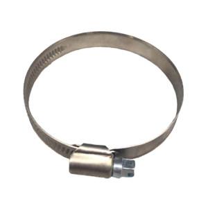 ZKH/震坤行 不锈钢德式喉箍 304 本色 60~80mm 12mm 1包