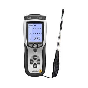 CEM/华盛昌 热敏式风速仪 DT-8880(含标配探头) 1台