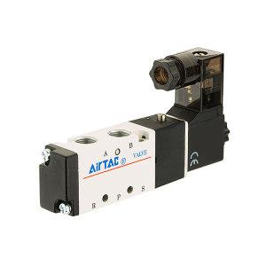 AIRTAC/亚德客 4V300系列电磁阀 4V31008B 两位五通 DIN插座式 接口Rc1/4 DC24V 1个