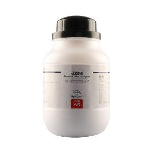 XL/西陇 硫酸镁 1050050101700 CAS:10034-99-8 等级:AR 500g 1瓶