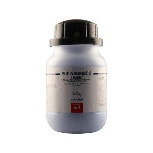 XL/西陇 硫酸铜 1060050101700 CAS:7758-99-8 等级:AR 500g 1瓶