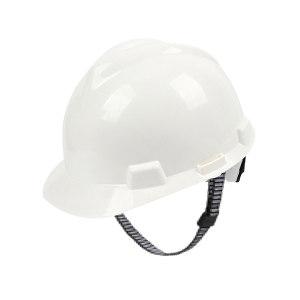 MSA/梅思安 V-Gard ABS标准型安全帽 10172879 白色 超爱戴帽衬 针织布吸汗带 D型下颏带 1顶