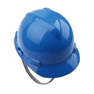 MSA/梅思安 V-Gard ABS标准型安全帽 10172893 蓝色 超爱戴帽衬 针织布吸汗带 D型下颏带 1顶