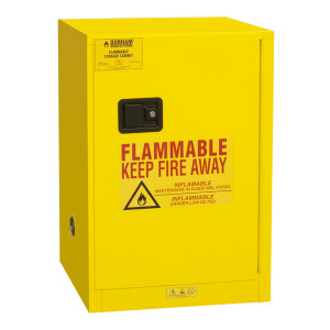 DURHAM MFG 易燃性液体安全存储柜 1012M-50 黄色 12加仑 1台