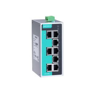 MOXA/摩莎 8口非网管型工业以太网交换机 EDS-208A 1个