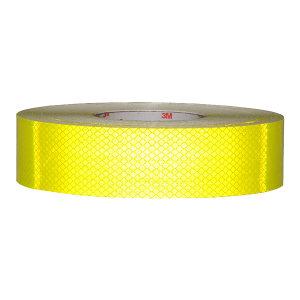 3M DG3钻石级反光贴 4083 荧光黄绿 20mm*2m 1卷