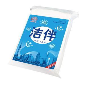 JIEBAN/洁伴 平板卫生纸(新品上市) 103506XX(袋) 单层 460g 170×240mm 30包 1袋