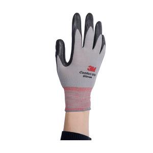 3M 舒适型防滑耐磨手套 WX300921193 L 灰色 1副