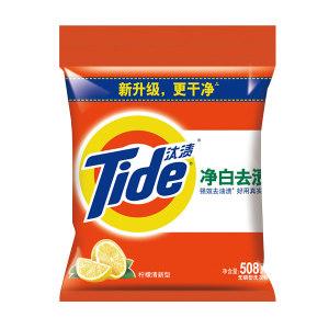 TIDE/汰渍 净白去渍洗衣粉 6903148078938 508g 柠檬清新型 1袋