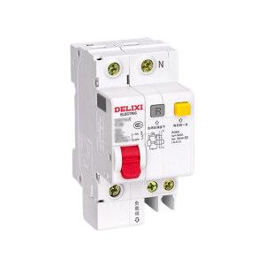 DELIXI/德力西 DZ47sLE小型漏电保护断路器 DZ47sLE 1P+N C  20A 1个