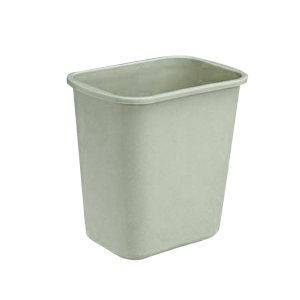 CHAOBAO/超宝 小号花纹垃圾桶 B-035B 260×175×260mm 7.5L 灰色 1个