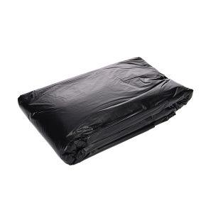 XLK/小箩筐 黑色平口垃圾袋(新料) LH90110-50只装 90×110cm 厚度2丝 50只 1包