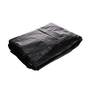 XLK/小箩筐 黑色平口垃圾袋(新料) LH110120-50只装 110×120cm 厚度2丝 50只 1包