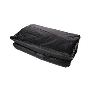 XLK/小箩筐 黑色平口垃圾袋(新料) LH120130-50只装 120×130cm 厚度2丝 50只 1包