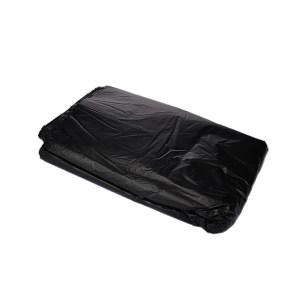 XLK/小箩筐 黑色平口垃圾袋(新料) LH120140-50只装 120×140cm 厚度2.5丝 50只 1包