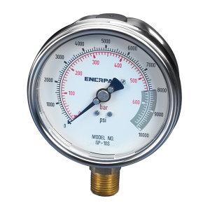 ENERPAC/恩派克 压力表 GP10S 0-700bar,0-10.000psi 1个